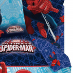 SPIDERMAN ACTION/MASK/ULIMATE - Drap housse - 90 x 190 - coton - Réf : SPI423093