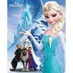 FROZEN - Poster Reine des Neiges - 40 x 50 cm - Mountain