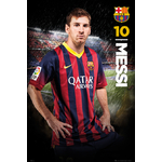 FOOTBALL - Poster FC Barcelona - 61 x 91cm - Messi