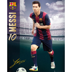 FOOTBALL - Poster FC Barcelona - 40 x 50cm - Messi 2014/15