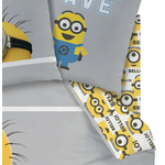 MINIONS - Drap Housse 90 x 190 cm - Team - Bello