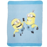 MINIONS - Plaid - couverture - 110 x 140 cm - Dave