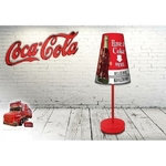 COCA-COLA  - Lampe de chevet Conique - Haut. 31 cm