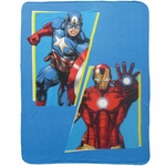 AVENGERS - plaid - couverture - 110 x 140 cm - Invincible