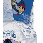 PIRATE JAKE - Drap Housse 90 x 190 cm  - Captain