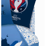 COUPE EUROPE FOOTBALL FRANCE PLAYER - Drap-housse - 140 x 190 - coton - Réf : UEFA433269