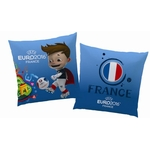 COUPE EUROPE FOOTBALL FRANCE MASCOTTE - Coussin 40 x 40 - Réf : UEFA433290