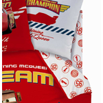 DISNEY CARS 2 - Drap Housse 90 x 190 cm - This way