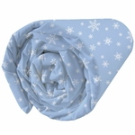 REINE DES NEIGES - Drap Housse 90 x 190 cm - Frozen Enjoy