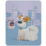 PETS  FRIENDS  - Plaid 110 x 140 - Réf : PET440151
