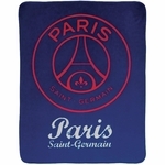 PSG - Plaid - 110 x 140 cm - Red Score