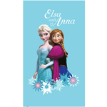 REINE DES NEIGES - Drap de Bain/Plage - Serviette - 70 x 120 cm - Frozen Magic