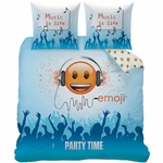 EMOJI - Parure de lit - housse de couette - 240 x 220 cm - Smiley Party Time (PLC)