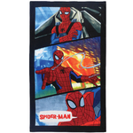 SPIDERMAN - Serviette, Drap de Bain/Plage 70 x 120 cm - power