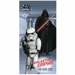 STAR WARS DARK SIDE - Serviette, Drap de Bain/Plage 75 x 150 cm