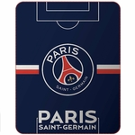 PSG - Plaid 110 x 140 Cm - Paris Saint Germain - Terrain