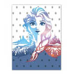 Reine des Neiges - Plaid 110 x 140 Cm - Frozen Elsa