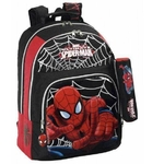 SPIDERMAN - Sac à dos - Grand Cartable - 43 cm de hauteur + Trousse