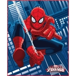 SPIDERMAN JUMP - Plaid 110 x 140 - Réf : SPI423925