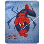 SPIDERMAN SPIDER - Plaid 110 x 140 - Réf : SPI436826