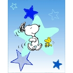 SNOOPY WAKE UP - Plaid 110 x 140 - Réf : SNO427466
