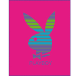 PLAYBOY  - Plaid 110 x 140 - Réf : PLA420580
