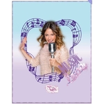 VIOLETTA MUSIC - Plaid 110 x 140 - Réf : VIO421136