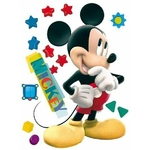 MICKEY - Maxi stickers - haut 80 cm