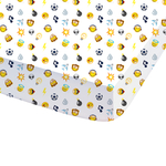 EMOJI - Drap Housse - 90 x 190 cm - Smiley Emoticons MOOD