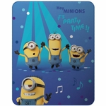 MINIONS - Couverture Caline - 110 x 140 cm - Dance
