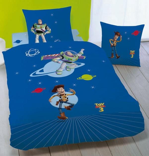 Housse de couette toy story 140 x 200 cm parure de lit rocket decokids - Housse de couette toys story ...