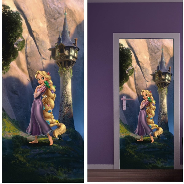 disney princesse raiponce d coration murale poster de. Black Bedroom Furniture Sets. Home Design Ideas