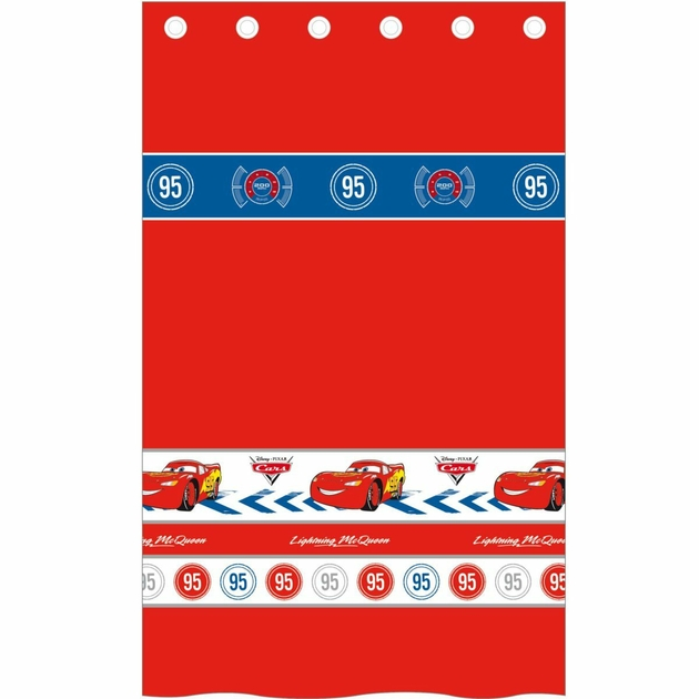 "DISNEY CARS 2 - Rideau- 140 x 260 cm - ""Blazing Speed"" - DISNEY CARS ..."