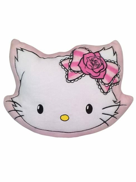 Hello kitty coussin t te hello kitty decokids tous - Tete hello kitty ...