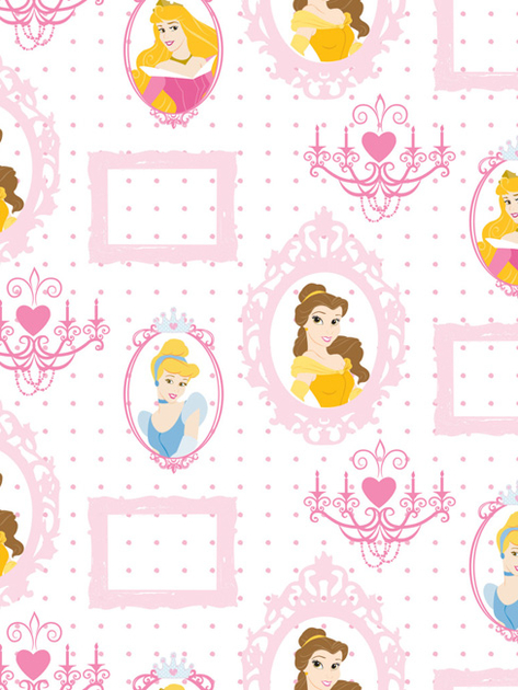 disney princesse rouleau de papier peint royal disney. Black Bedroom Furniture Sets. Home Design Ideas