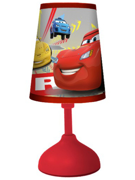disney cars 2 mini lampe de chevet led 20 x 8 5 cm disney cars decokids tous leurs h ros. Black Bedroom Furniture Sets. Home Design Ideas