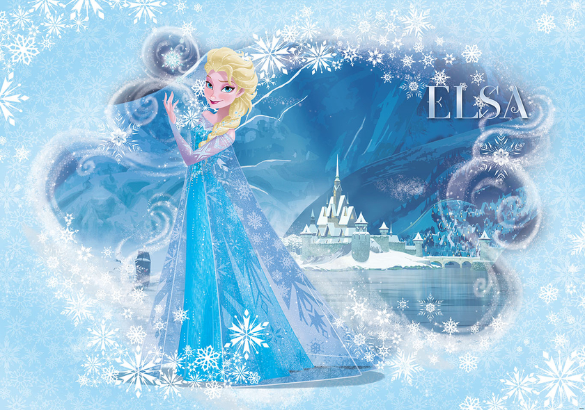 reine des neiges papier peint xxl frozen poster 358 x 254 cm elsa sc ne de chambre. Black Bedroom Furniture Sets. Home Design Ideas
