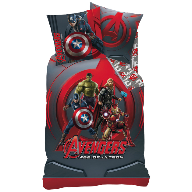 avengers phousse de couette arure de lit 140 x 200 cm nouvelle collection 2015. Black Bedroom Furniture Sets. Home Design Ideas