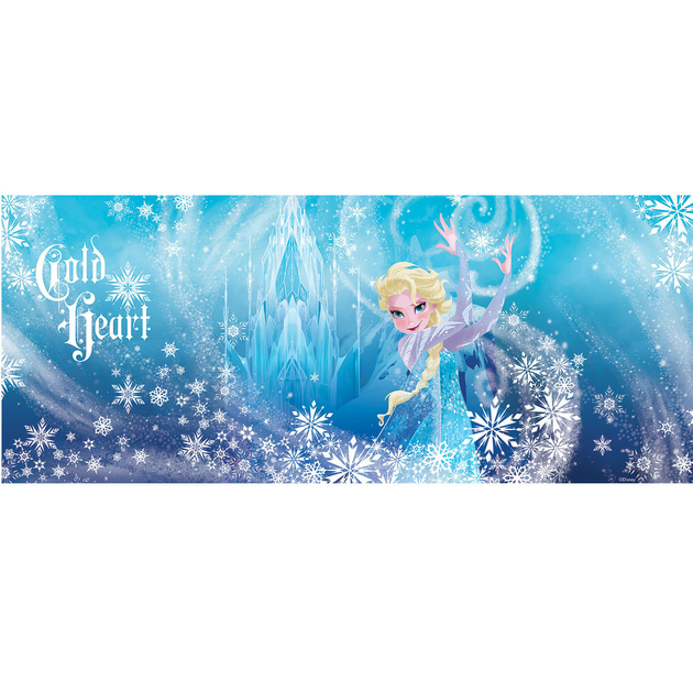 frozen reine des neiges poster panoramique papier peint 250 x 104 cm elsa frozen. Black Bedroom Furniture Sets. Home Design Ideas