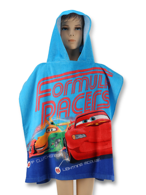 disney cars cape de bain poncho 120 x 60 cm disney. Black Bedroom Furniture Sets. Home Design Ideas