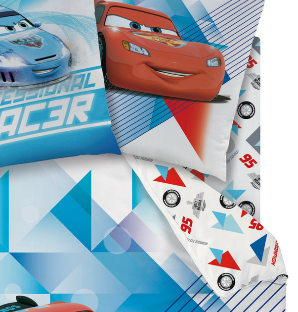 Disney cars 2 drap housse 90 x 190 cm ice racer - Drap housse cars 90x190 ...