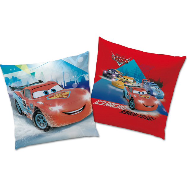 Cars ice racer coussin 40 x 40 r f car427985 for Decoration chambre cars