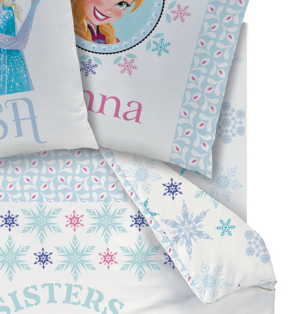 disney princesse reine des neiges drap housse 90 x 190. Black Bedroom Furniture Sets. Home Design Ideas