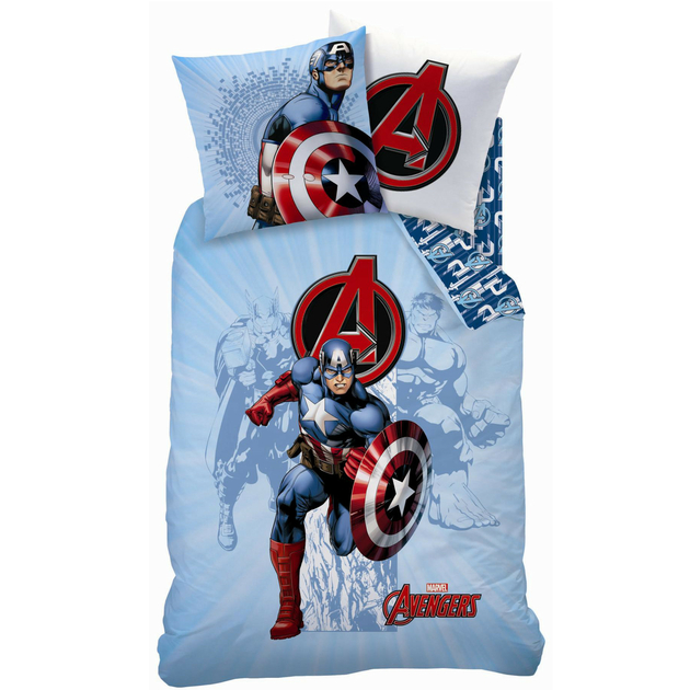 avengers power parure 140 x 200 plc r f ave434730. Black Bedroom Furniture Sets. Home Design Ideas