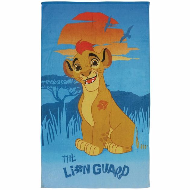 roi-lion-serviette-drap-bain-plage-kion