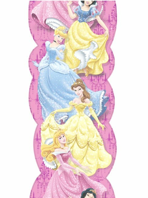 Stickers muraux disney princesse disney princesses for Frise murale verticale