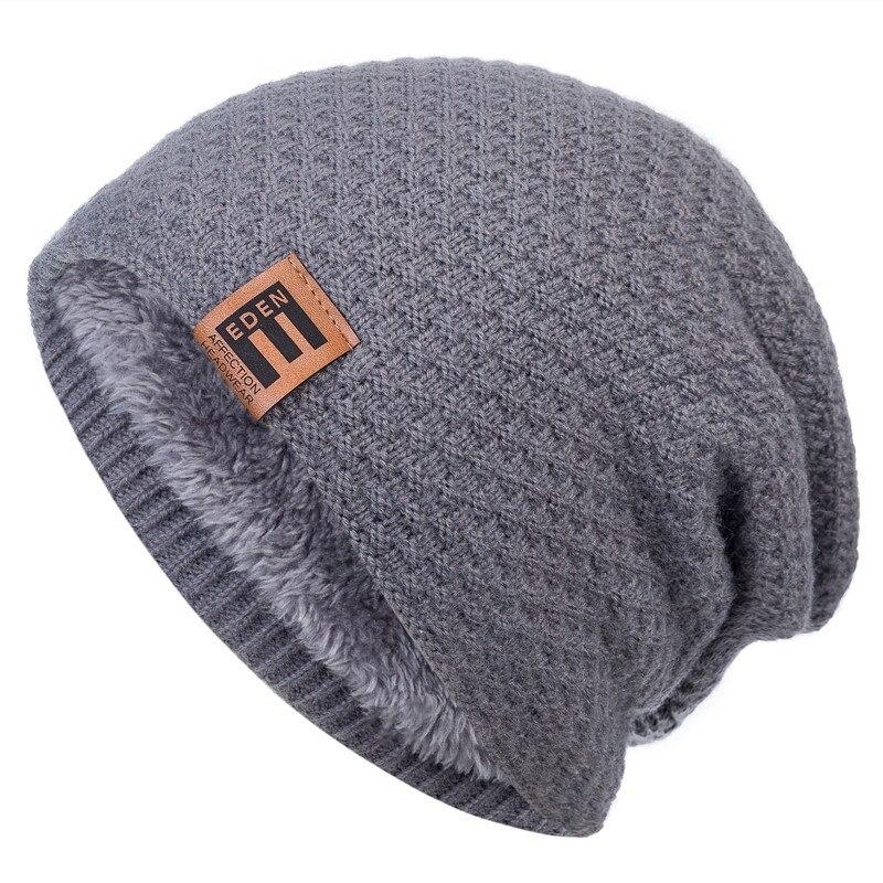Bonnet hiver chaud doublé pour femme ou homme
