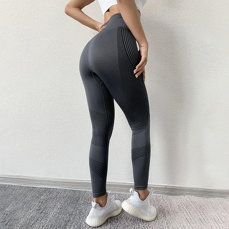 Leggings taille haute pour femme, pantalon de sport moulant