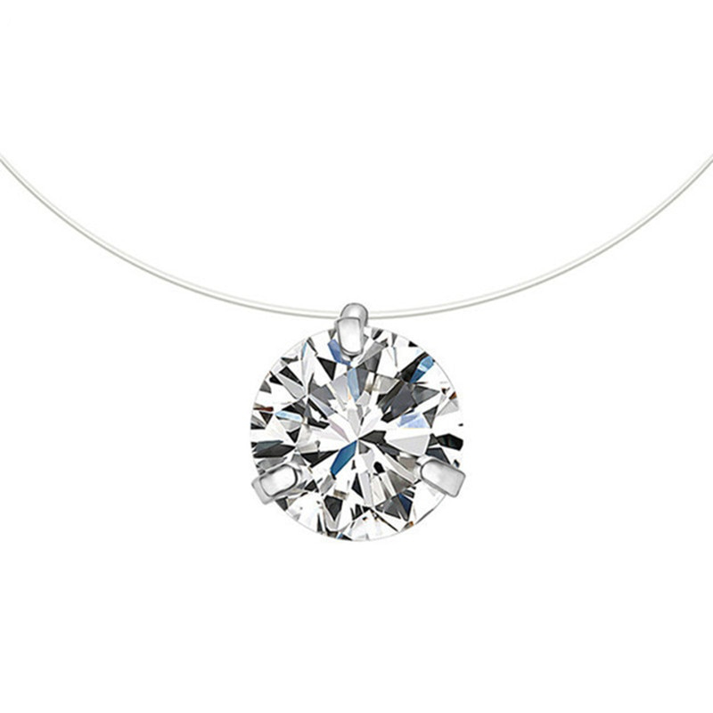 collier ras de cou brillant