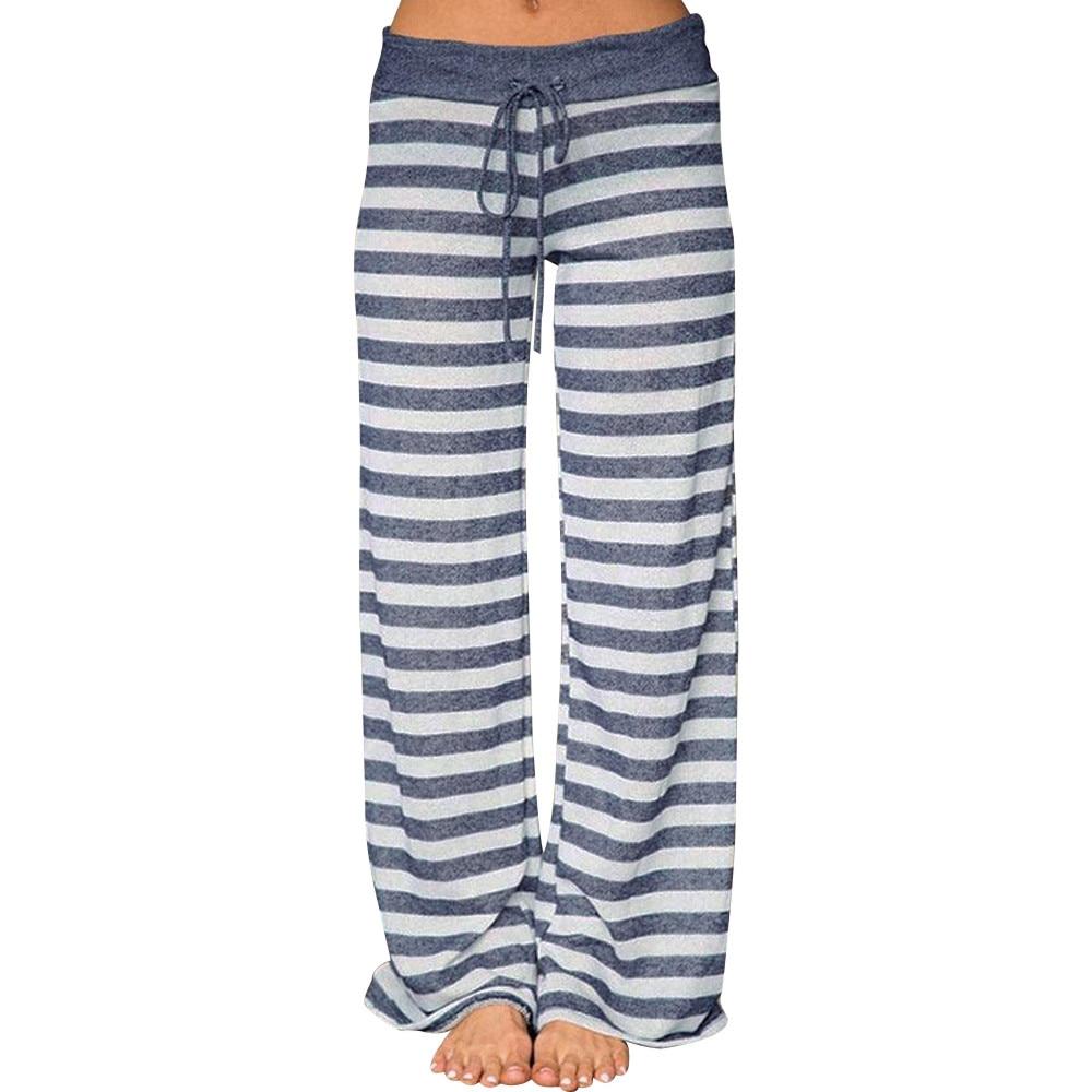 Pantalon respirant RAIDZ Rayé pour le Yoga la gym ou la détente